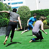 Tag<br /> <br /> Jo Ramirez (L), Mike Walsh (C, NYU Gallatin), and Amelia Dornbush (R) fly through in NYUAD garden in a raucous game of tag.
