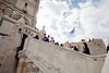 Bryn Mawr College students on 360° class study tour, Notre Dame de la Garde, Marseille, France, 10 March 2013