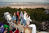 Bryn Mawr College students on 360° class study tour, Notre Dame de la Garde, Marseille, France, 10 March 2013; yoseloff 360
