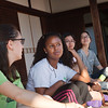 Bryn Mawr college students visit Zuihou-in, a sub temple of Daitoku-ji in Kyoto, Japan on Oct. 1, 2013 (Photo / Ko Sasaki)