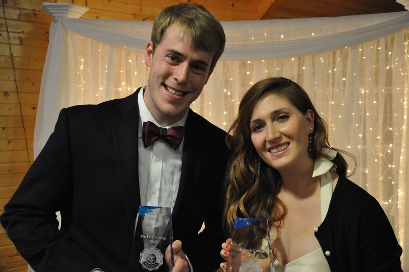 Mr. & Ms. York College<br /> Carson Tuttle and Alice Hackett<br /> <br /> photo by Steddon Sikes
