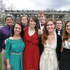 Candidates for Mr. and Ms. YC were (1st row) l-r: Bethany Saylor, senior vocal music K-12 and vocal performance major from Lawrence, Kansas, Kameryn Brewster, senior elementary education major from Casper, Wyoming, Alice Hacket, senior biology major from Rapid City, South Dakota, and Carrie Berzins, senior sports management major from Aurora, Colorado. (2nd row) Gene Felise, senior physical education K-12 major from San Leandro, California, Michael Miller, senior Biblical studies youth ministry major from Tacoma, Washington, Carson Tuttle, senior social science education major from Lincoln, Nebraska, and Emerson Miles Negley, senior Biblical studies major from Ithica, Nebraska.