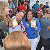 Happy Delta chicks: Jamie Stutz, Stephanie Bartels, and Elquin Auala.<br /> photo by Steddon Sikes