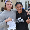 Kyodai president Michael Miller with freshman Raul Ortiz III<br /> photo by Steddon Sikes