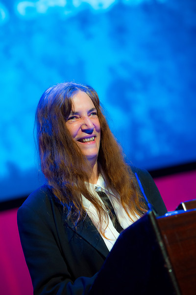 Bryn Mawr College presents the Hepburn Medal to Patti Smith