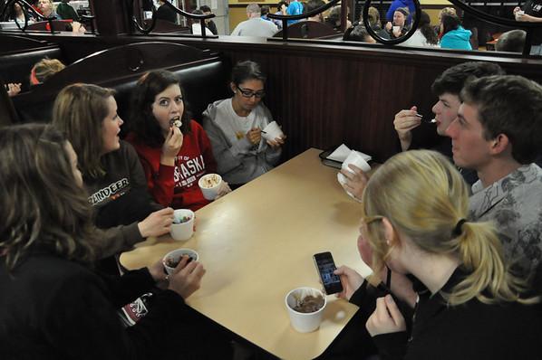 Pre-Finals Ice Cream 2013