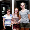 Roommates Madison Brown and Callie Lopshire-Bratt  both from California, and Emily Drummond from Pennsylvania.