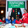 Rhodes South customs: Marisa Arellano '16, Ashley Hahn '14, Kim Wiley, '15, Mfon-ido Akpan '15, and Shorouk Badir '16.