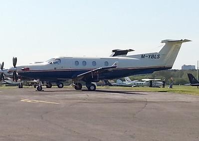 Pilatus PC-12 M-YBLS