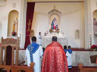 Feast of St. Stephen 2013, Dec. 24