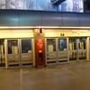 Lille Europe metro station.