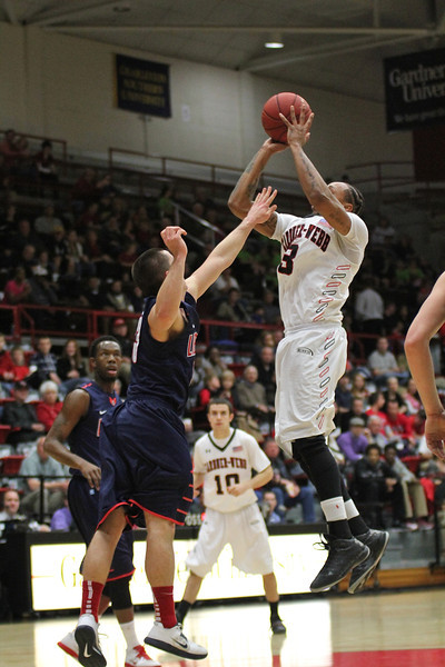 Mens Basketball defeats Liberty University 71-68 Saturday night in the Paul Porter Arena.