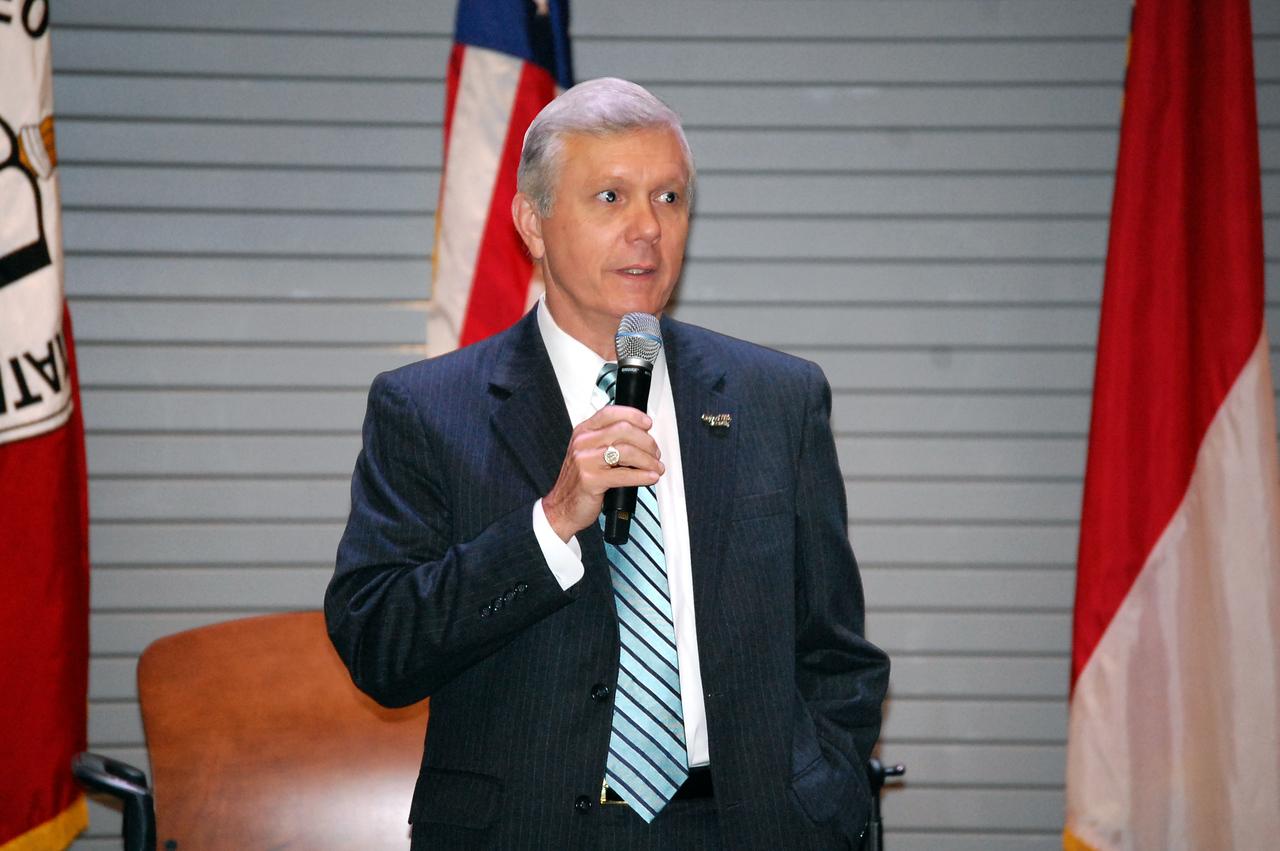Walter Dalton introducing U.S. Rep Patrick McHenry