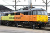28 February 2013 :: In Willesden depot, 86701 with Colas Rail Freight colours