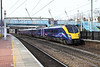 28 February 2013 :: Hull Trains 180110 at Alexandra Palace with 1A94, the 12.30 from Hull to King's Cross