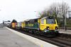 21 February 2013 :: 70017 passing Basingstoke working 4V50 from Southampton to Wentloog