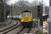 28 February 2013 :: Passing Gospel Oak is 66567 working 4L31, Bristol to Felixstowe