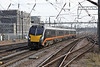 28 February 2013 :: Grand Central 180114 at Alexandra Palace on 1D73 the 14.48 from King's Cross to Bradford Interchange
