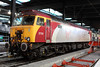 """28 February 2013 :: Virgin's thunberbird 57311 at Euston, now without its """"Parker"""" nameplate"""
