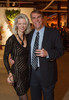 "Bev Adams (BCBG) and Paul Woods.  ""Design After Dark"" event, themed ""Cirque,"" benefiting the Denver Art Museum, at the McNichols Civic Center Building in Denver, Colorado, on Friday, Feb. 8, 2013.<br /> Photo Steve Peterson"