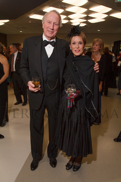 "Larry and Susan Hamil.  ""The Premiere,"" an event hosted by the University of Colorado Hospital Foundation and benefiting the University of Colorado Hospital Emergency Department, at the Department of Emergency Medicine, University of Colorado Hospital, in Aurora, Colorado, on Saturday, Feb. 9, 2013.<br /> Photo Steve Peterson"