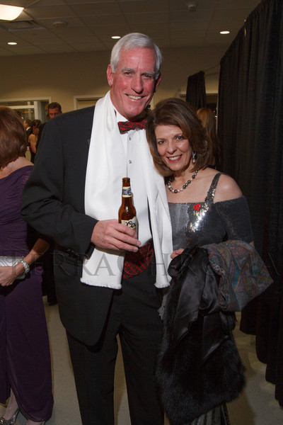 "Pete and Marilyn Coors.  ""The Premiere,"" an event hosted by the University of Colorado Hospital Foundation and benefiting the University of Colorado Hospital Emergency Department, at the Department of Emergency Medicine, University of Colorado Hospital, in Aurora, Colorado, on Saturday, Feb. 9, 2013.<br /> Photo Steve Peterson"