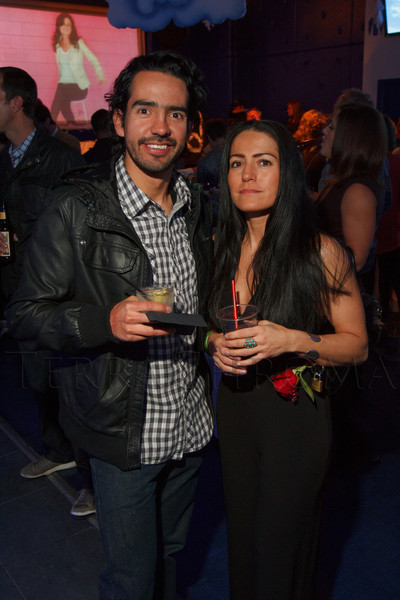 """Juan Catano and Claudia López (a Top Single).  """"Single in the City 2013,"""" presented by 5280 magazine, at Exdo Event Center in Denver, Colorado, on Friday, Feb. 15, 2013.<br /> Photo Steve Peterson"""