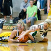 Sterling's Kaitlyn Bauer and Rock Falls' Morgan Mammosser battle for a loose ball Tuesday night.