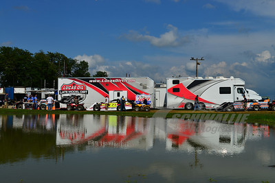 Lucas Oil Late Model Dirt Series Trailer @ Florence Speedway