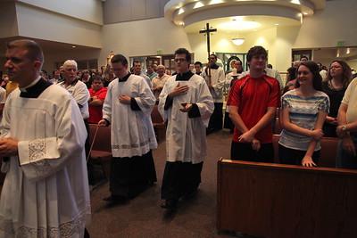 Fr. Chris Axline's 1st Mass