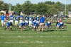 Franklin Central JV football vs Southport FC wins 30-18. Photo by Eric Thieszen.
