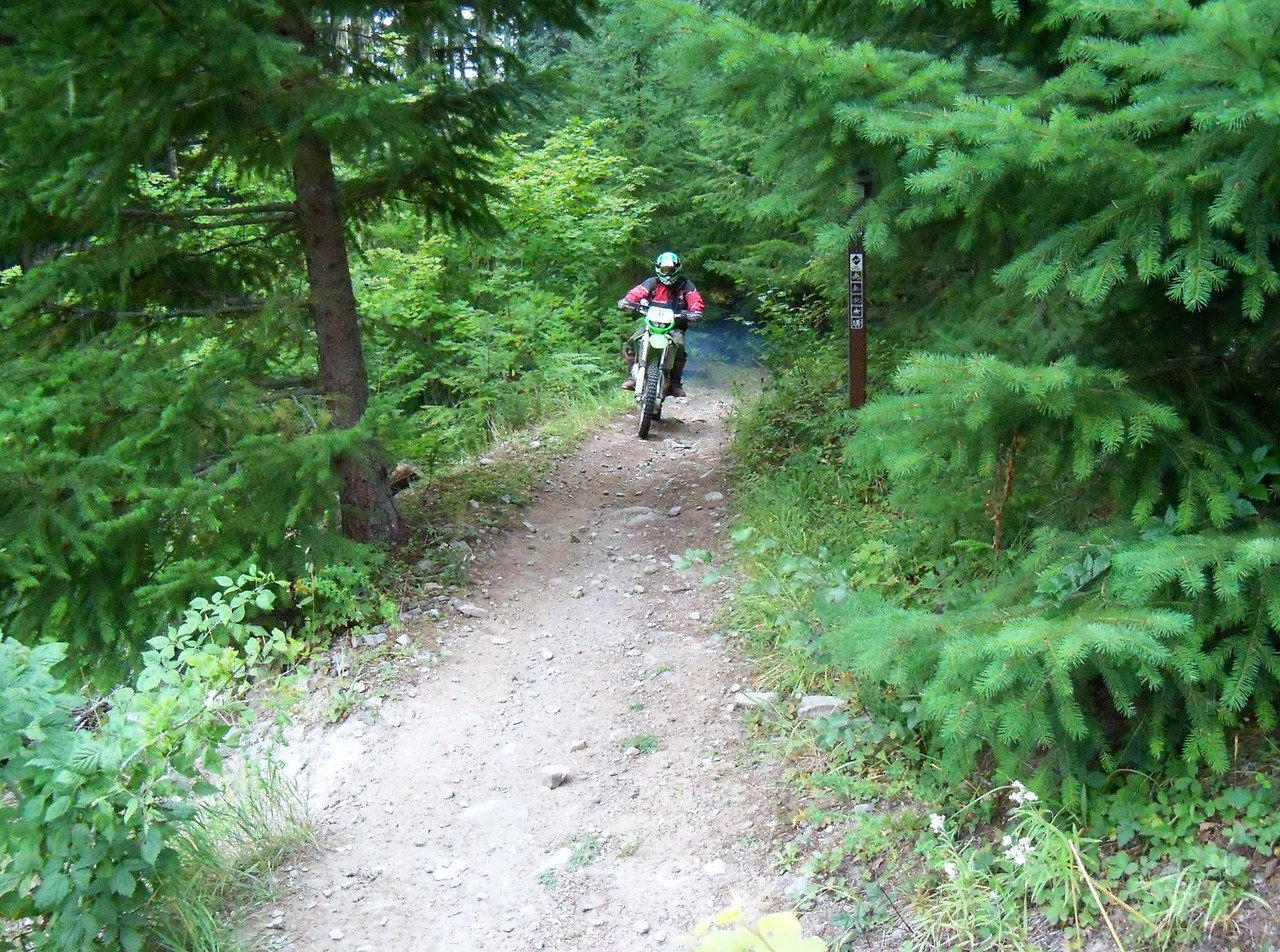 We did two rides Thursday.. Gary on the 271 Trail here..