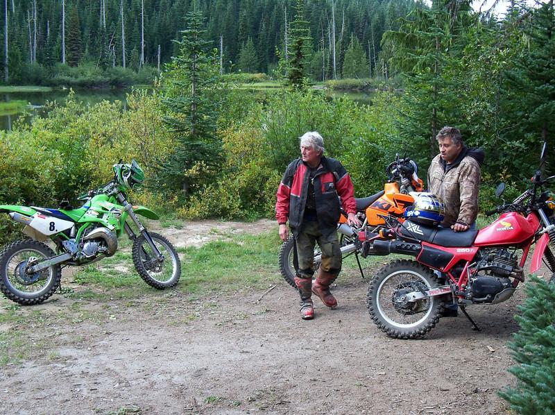 Parking at Mud Lake