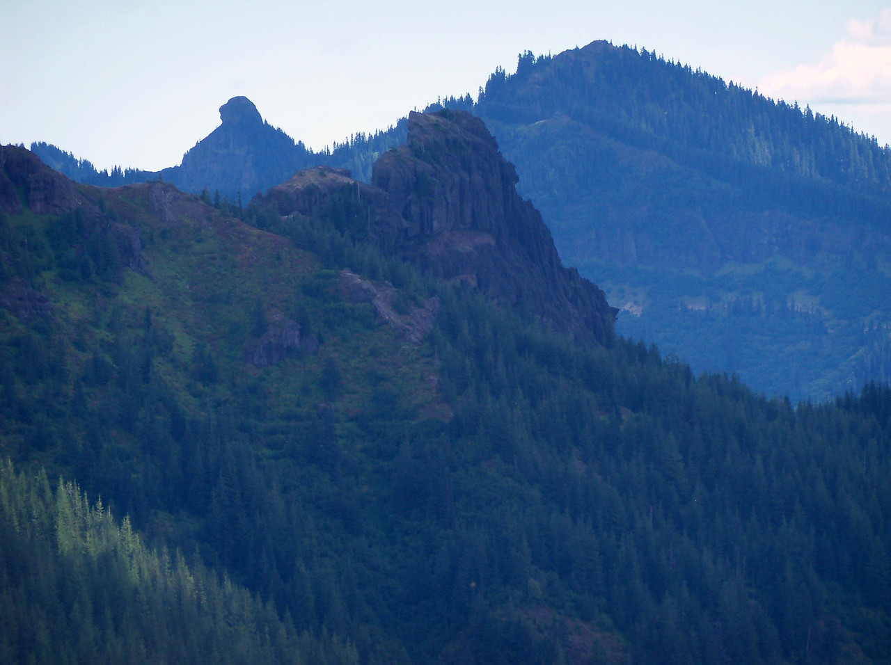 """Pinto Rock and Craggy Peak from the """"DS"""" ride.."""