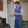 LOUIE THE MAGICIAN PERFORMS FOR THE KIDS...THEY LOVED IT