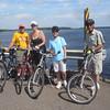 BICYCLING AT MILLER DAM