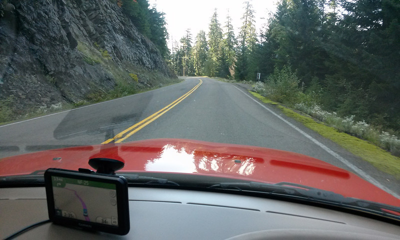 Heading South from Randle on USFS 25..