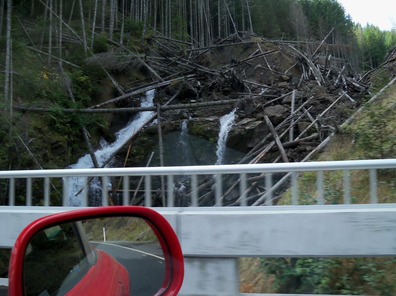 2010's huge slide on 25 road