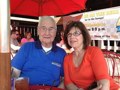 Grandma D Visits With Grandpa Fleck (Oct. 14)