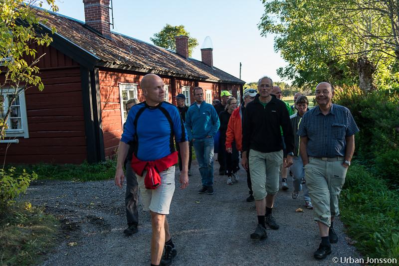Promenad med kulturkvartar på Arholma.
