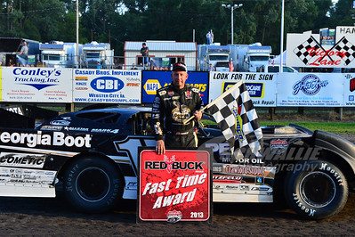 Steve Francis won the Red Buck Fast TIme Award