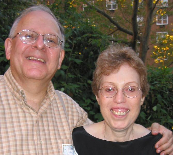25th Anniversary  Harriet Bograd and Ken Klein<br>Photo taken by  Ilana Lubit