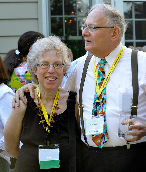 Harriet Bograd with husband Ken Klein