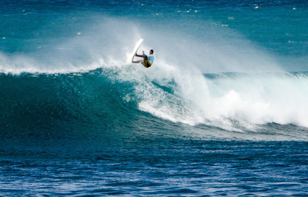 Stand-up Paddlers can shred