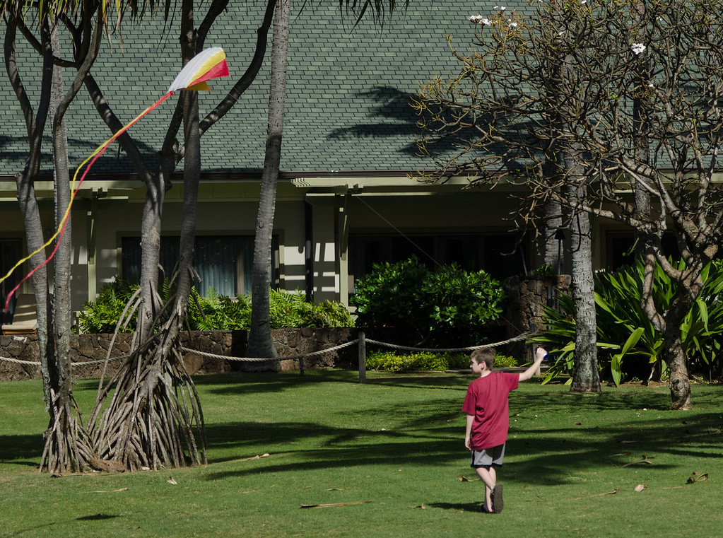 Told him to go fly a kite...