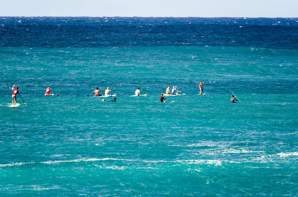 Stand-up Paddle Competition
