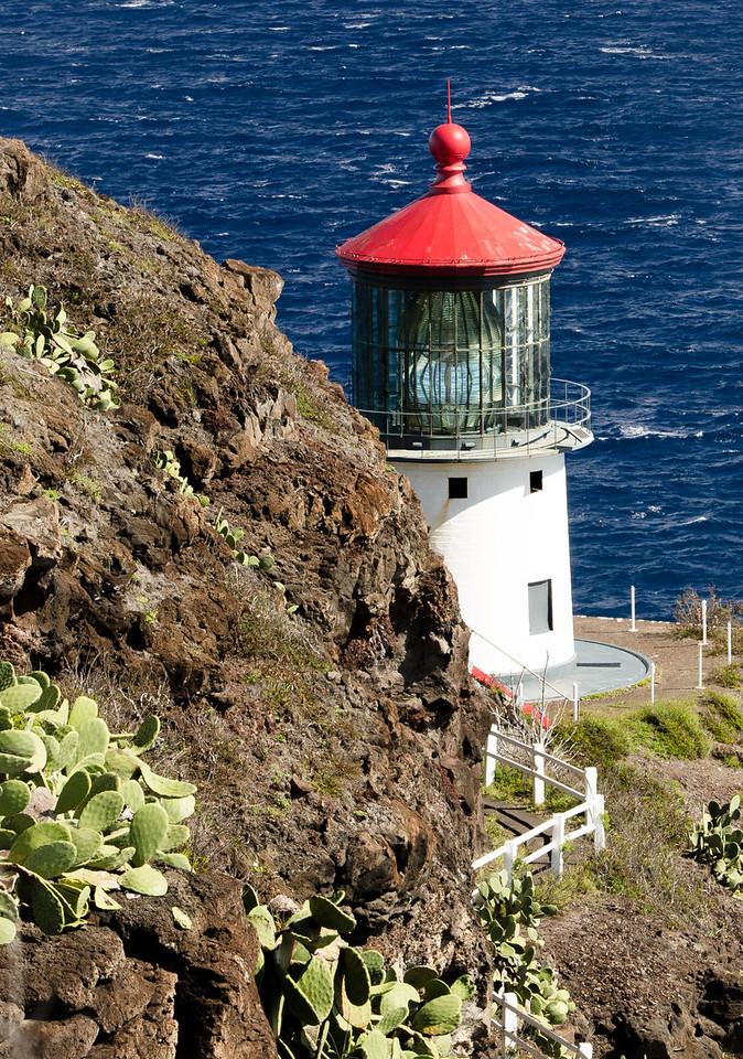 Light house on east end of Oahu