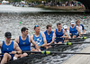 Men's Master Eight, back at the dock