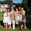 Festival Gala at Meadowood. Auctioneer Fritz Hatton and his flapper entourage.