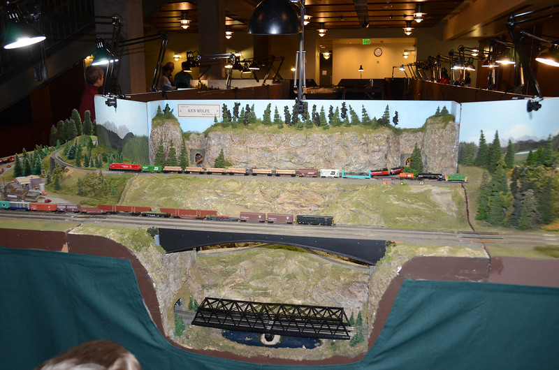 Nathan's train at Model RR Show, WSHM